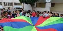 قلقيلية : يوم مرح وفرح للأطفال الايتام في مدرسة بنات الاسراء الاساسية