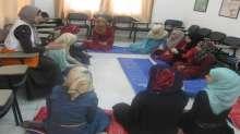 لقاء جديد ينظمه الهلال الأحمر لنادي الفتيات بقلقيلية
