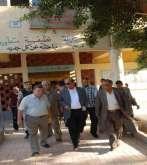 جولة مفاجئة لمحافظ أسيوط لـ 3 قرى بمركز القوصية لمتابعة أعمال التطوير بها
