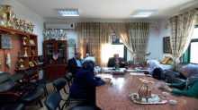 قلقيلية : مدير التربية يلتقي طالبات مدرسة بنات فاطمة سرور الثانوية