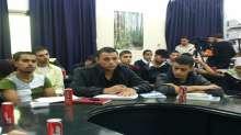 جامعة فلسطين تنظم ورشة عمل بعنوان الدور الوطني للإعلام الفلسطيني ابان العدوان الأخير على قطاع غزة