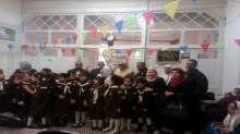 مرشدات كشافة المدرسة الإسلامية الأساسية للإناث في زيارة لدار المسنين
