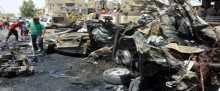 قتلى وجرحى بانفجار مزدوج بسيارتين مفخختين شرقي بغداد