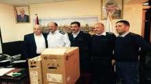 حركة فتح بسلفيت تستقبل وفدا من مديرية الشرطة
