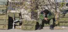منظمة: أوكرانيا وربما المتمردون استخدموا قنابل عنقودية في الصراع