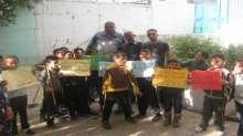 يوم عمل تطوعي في مدرسة ذكور عسكر الثانية