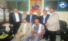 أحمد عطوة واعضاء الدرع في غزة