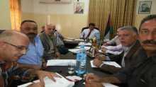 اللجنة الإقليمية للتخطيط والبناء في محافظة جنين تعقد جلستها الدورية
