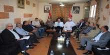 اللجنة الامنية المشتركة تجتمع في مقر الامن الوطني الفلسطيني
