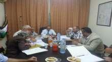 اللجنة الاقليمية للتنظيم والتخطيط العمراني في محافظة قلقيلية تعقد جلستها العاشرة لهذا العام