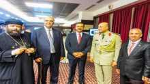 الدكتور عياش يشارك في احتفالات نصر اكتوبر المجيد ويهنئ سفير فلسطين الجديد في رومانيا