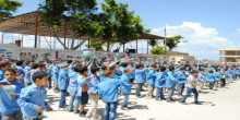 اللجنتين الشعبية و الاهلية تهدد باقفال مدرسة عين العسل في مخيم الرشيدية