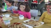 قوات الأمن الوطني الفلسطيني تقدم وجبة غداء لمؤسسة الأشبال والزهرات في بلدة كفرذان