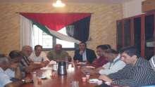 اللجنة الشعبيه تعقد إجتماع للبحث بقضايا الشأن العام