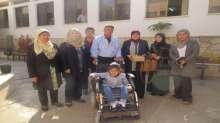 تربية جنين تتسلّم مكرمة رئاسية لطالبة من ذوي الإعاقة