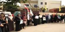 اعتصام تضامني مع الاقصى في الرشيدية بجنوب لبنان