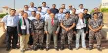 كلية فلسطين للعلوم الشرطية تحتفل  بتخريج دورتين في  إدارة مسرح الجريمة ومهارات التحقيق
