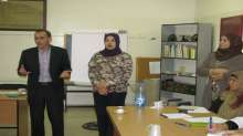 مدير تربية أريحا يتفقد دورة تدريبية للمرشدين التربويين