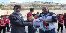 نجاح باهر لمهرجان كرة الطائرة المصغرة في مدرسة امين الحسيني الاساسية بالبيرة