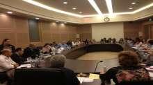 غنايم يدعو خلال جلسة لجنة التربية وزارتي التربية والمالية لتنفيذ التزاماتهما تجاه سكرتاريا المدارس