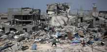 أبو معيلق يطالب بفتح المعابر لإعادة إعمار غزة