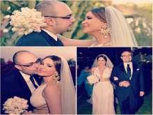 بالصور.. كارول سماحة تحتفل بعيد زواجها الأول ببساطة