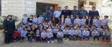 نظمت الشرطة اليوم  يوما ترفيهيا لطلاب وطالبات مدرسة الشهداء الأساسية المختلطة في مدينة قلقيلية