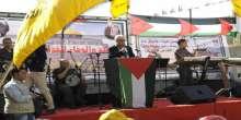 طوباس : مهرجان جماهيري حاشد احياء للذكرى العاشرة لاستشهاد الرئيس عرفات وذكرى الاستقلال
