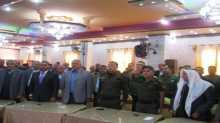 قوات الأمن الوطني الفلسطيني في محافظة جنين تشارك في مهرجان المسابقة الثقافية للمعرفة والإبداع والتميز