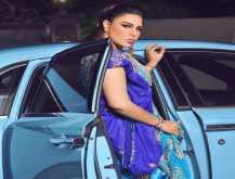 الملكة أحلام باطلالة هندية