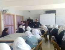 اختتام ورشة الإعلام في مدرسة بنات فرعون ث حول كتابة الخبر والتشبيك الإعلامي  والصحفي المتميز