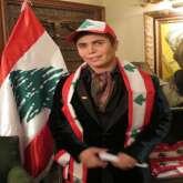 بالصور: جو رعد يحتفل بعيد الاستقلال