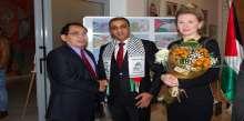 """بالصور ..سفارة فلسطين في بلغاريا تحيي الذكرى العاشرة لإستشهاد """"أبو عمار"""""""