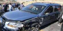 مصرع مواطنين وست اصابات خطيرة في حادث سير شرق بيت لحم