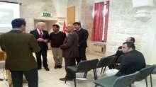 وفد من محافظة سلفيت يزور مستشفى العائلة المقدسة في بيت لحم