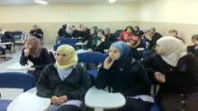 مدرسة ابن الهيثم الشاملة تحيي اليوم العالمي لمناهضة العنف ضد النساء