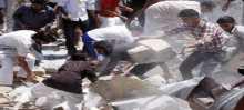 ارتفاع ضحايا الرقة الى 170 قتيلا