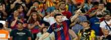 """هاتريك ميسي """"التاريخى"""" يقود برشلونة لسحق أبويل بخماسية"""