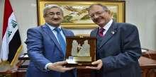 رئيس مجلس المفوضين في مفوضية الانتخابات يستقبل نائب ممثل الامين العام للامم المتحدة في العراق