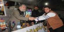 بالصور ..الجهاد بخانيونس تنظم حفلاً تكريمياً لشهداء معركة البنيان المرصوص