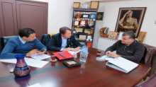 شاهر سعد يجتمع مع مستشار مشروع التعاون الفلسطيني الدنمركي لتجديد الاتفاقية في السنتين المقبلتين لتطوير ودعم عدد من نقابات ودوائر الاتحاد
