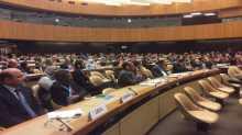 الإحتفال باليوم العالمي للتضامن مع الشعب الفلسطيني في مقر الأمم المتحدة في جنيف