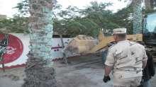 حملة مكبرة لازالة  30 حالة من التعديات والمبانى المخالفة في الاسماعيلية