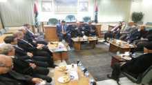 الزعنون يستقبل لجنة فلسطين  في البرلمان الأردني