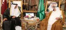القيادة السعودية تُهنئ أمير قطر