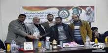 وفد من فدا رفح يهنئ حركة حماس بذكرى انطلاقتهم ال27