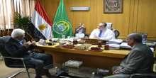محافظ الإسماعيلية يستقبل رئيس جامعة سيناء ويناقش سبل دعم الجامعة