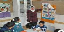 قلقيلية : وزيرة التربية والتعليم تتفقد مدرسة عرب الرماضين الاساسية