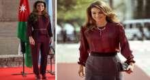 أجمل إطلالات الملكة رانيا للعام 2014