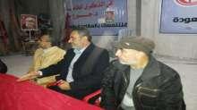 الشعبية بالوسطى تستقبل وفد من حركة فتح بمقرها بالمخيم الجديد في النصيرات